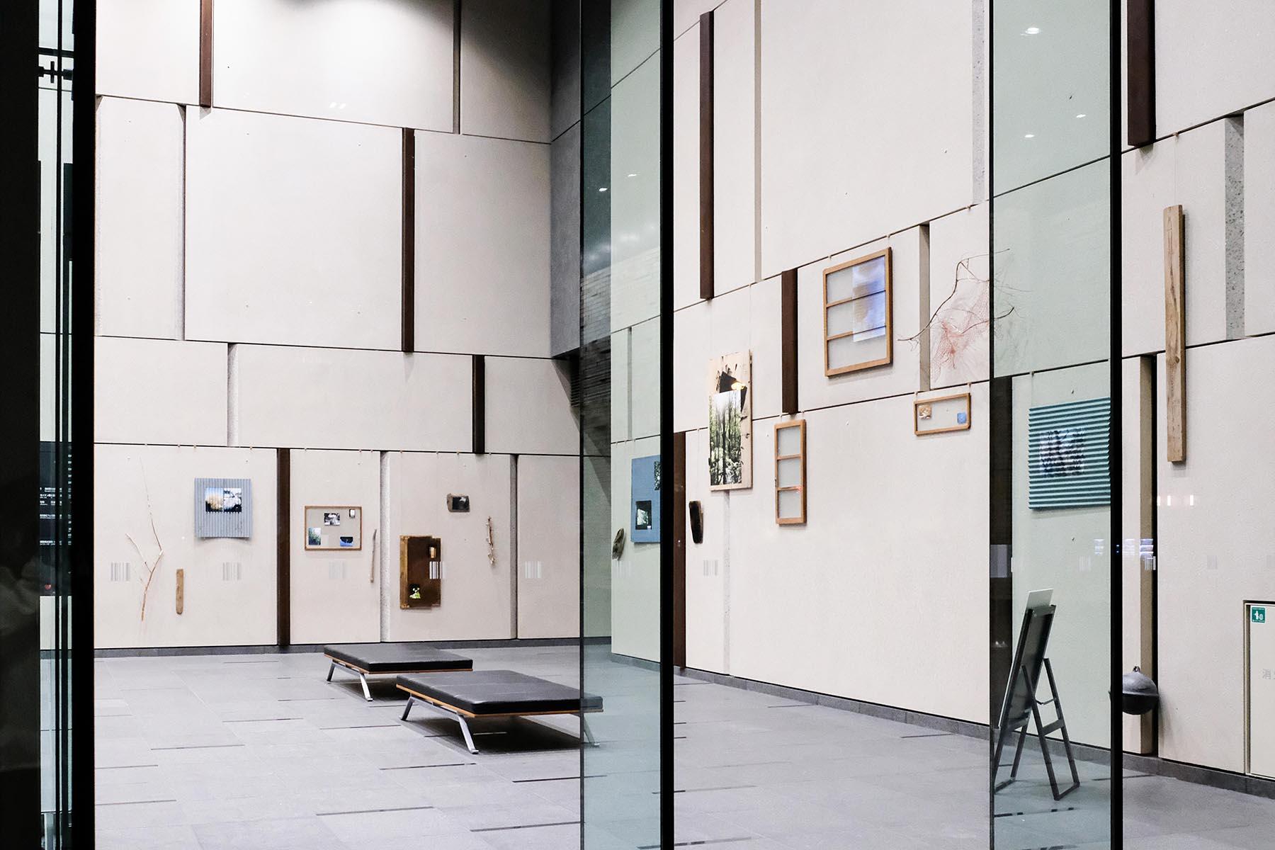 展示会場の写真。